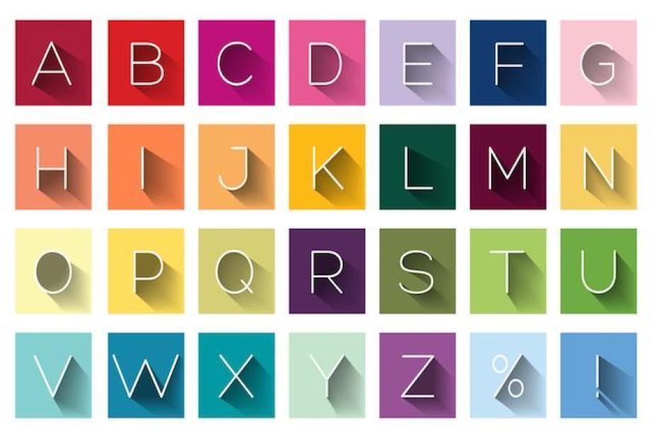 Typeface la gi trong typography