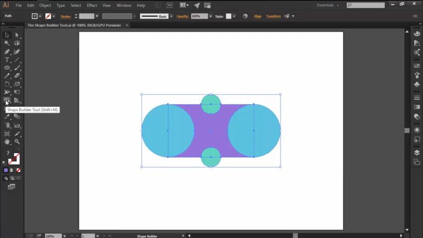 hoc illustrator co ban voi cong cu shape