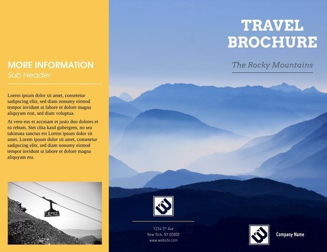 chon kieu brochure can lam thiet ke brochure