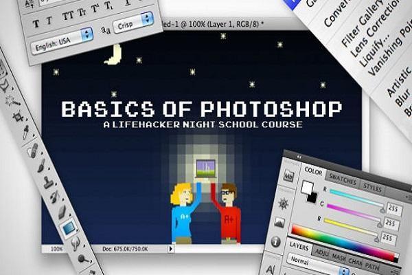 khoa hoc photoshop online - thanh thao photoshop can ban