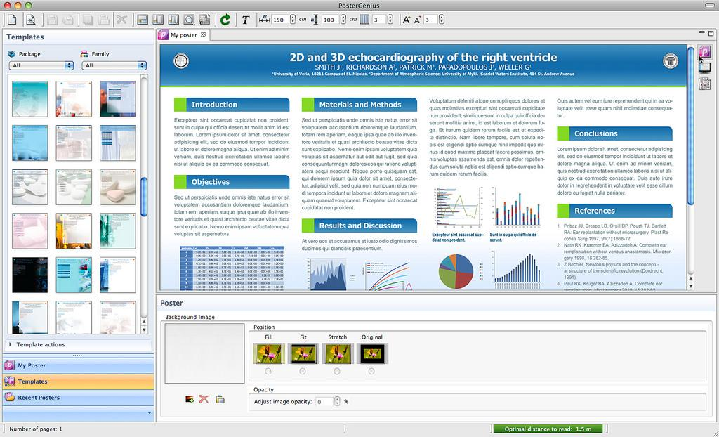 Phần mềm thiết kế Poster PosterGenius